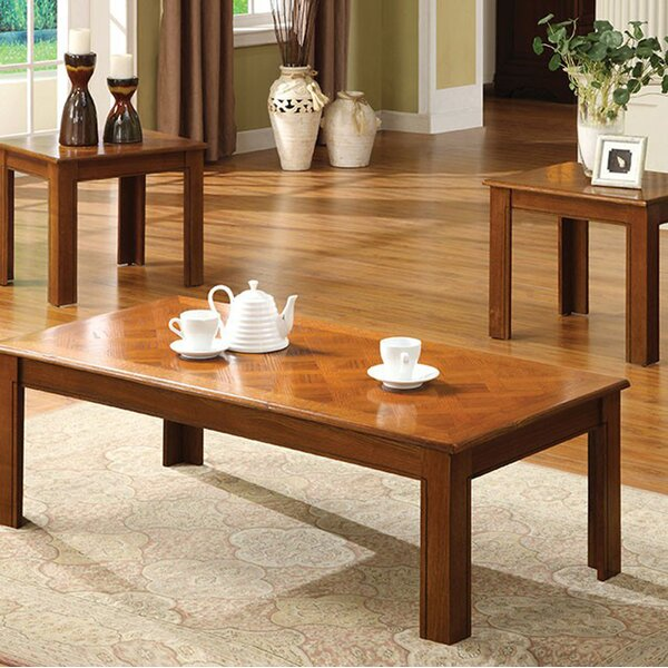 Partridge 3 Piece Coffee Table Sets by Winston Porter