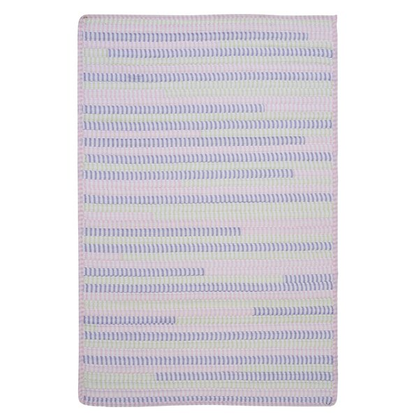 Ticking Stripe Rect Dreamland Area Rug by Colonial Mills
