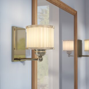 Read Reviews Nashville 1-Light Bath Sconce By Andover Mills