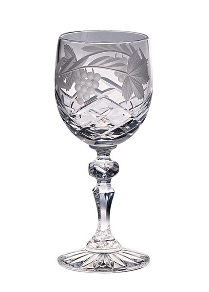 Grape 7 Oz. Crystal Liqueur Glass (Set of 4) by Majestic Crystal