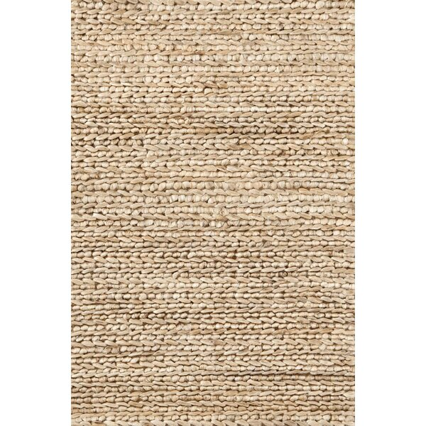 Hand Woven Beige Area Rug By Dash And Albert Rugs.