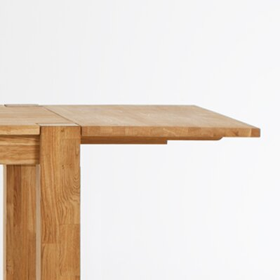 Watauga Extendable Solid Wood Dining Table by Highland Dunes