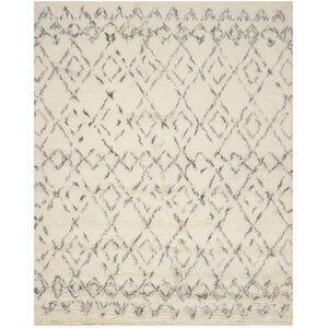 Gholston White/Grey Area Rug