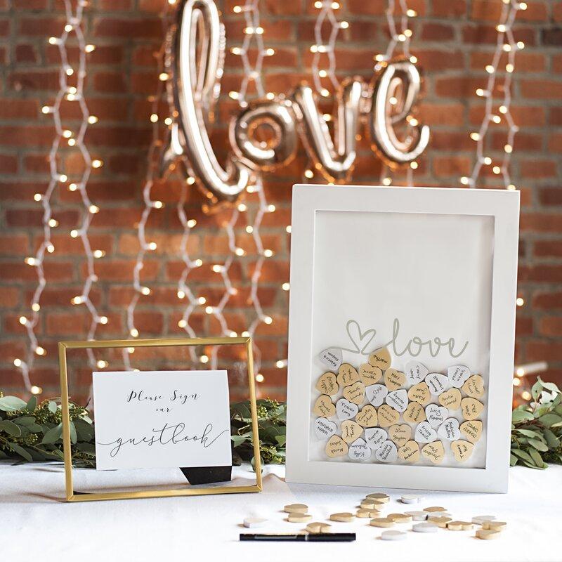 wedding guest books you ll love wayfair