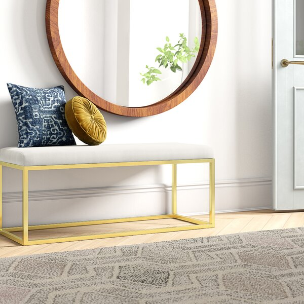 Annalise Upholstered Bedroom Bench by Foundstone