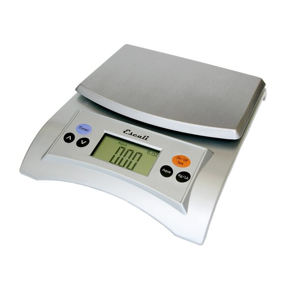 Aqua Digital Scale in Satin by Escali