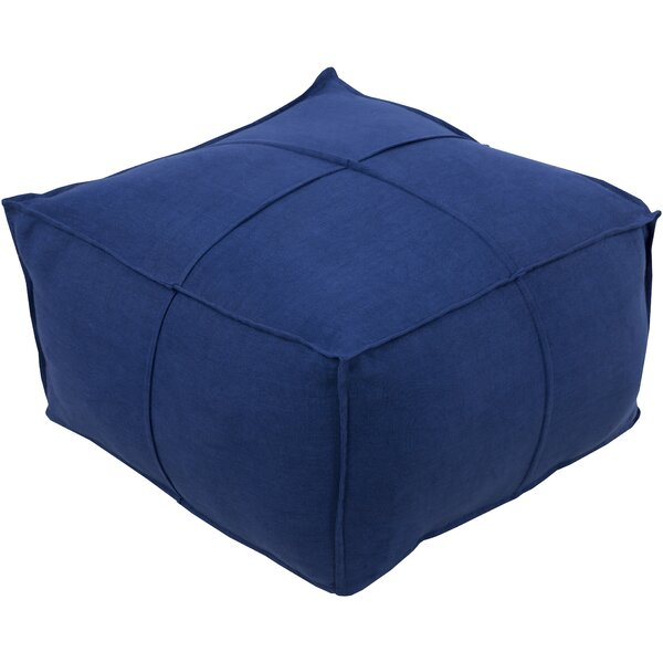 Waterbury Pouf by Breakwater Bay