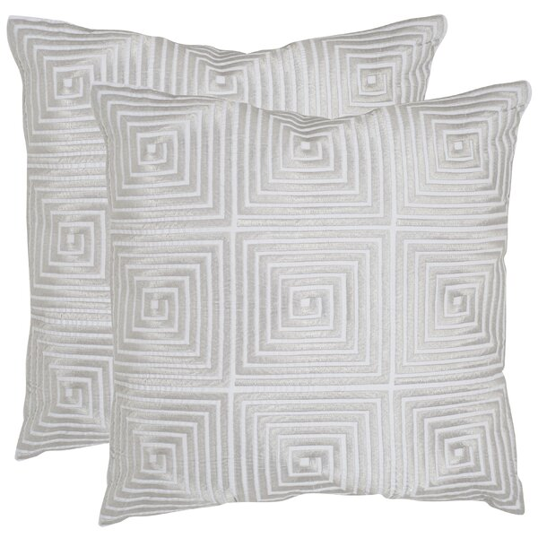 Lacie Throw Pillow (Set of 2) by Safavieh