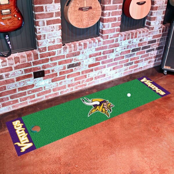 NFL Minnesota Vikings Putting Green Mat by FANMATS