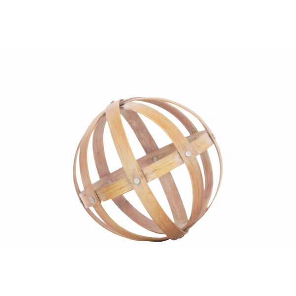 Stickland Bamboo Orb Sculpture by Bay Isle Home
