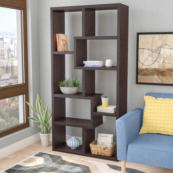 Ansley Geometric Bookcase By Brayden Studio