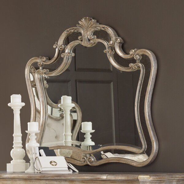 Sanctuary Arched Dresser Mirror by Hooker Furniture