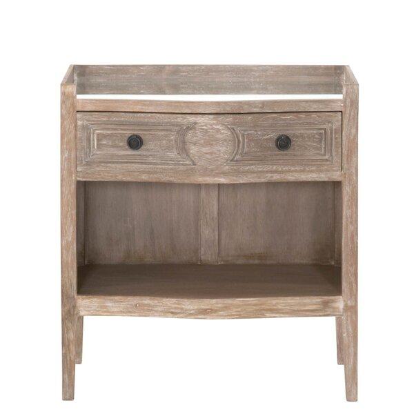 Wegener 1 Drawer Nightstand by Gracie Oaks