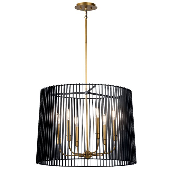 Adame 6 - Light Candle Style Drum Chandelier by Ivy Bronx Ivy Bronx