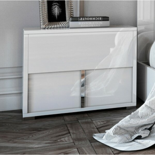 Dority 2 Drawer Nightstand by Orren Ellis