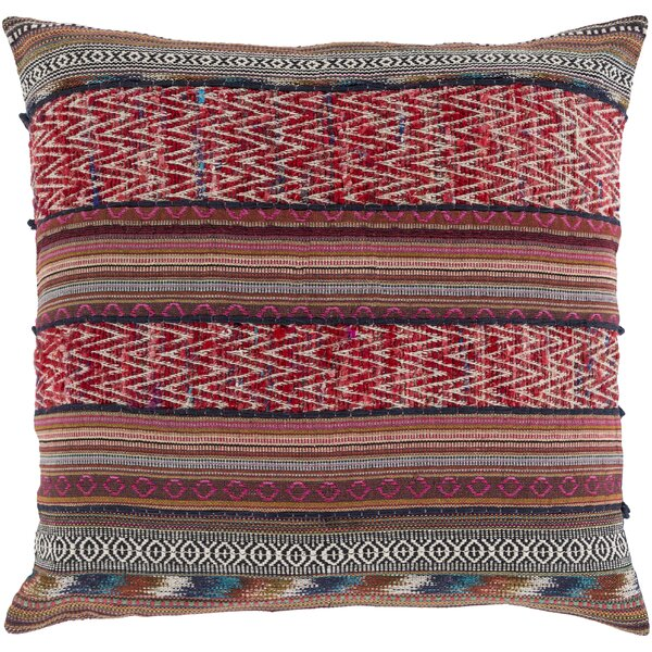Cammi Recycled synthetic fibers Throw Pillow by Mistana