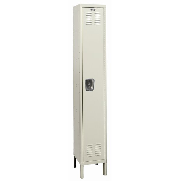 Galvanite 1 Tier 1 Wide School Locker by Hallowell