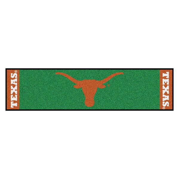 NCAA University of Texas Putting Green Doormat by FANMATS