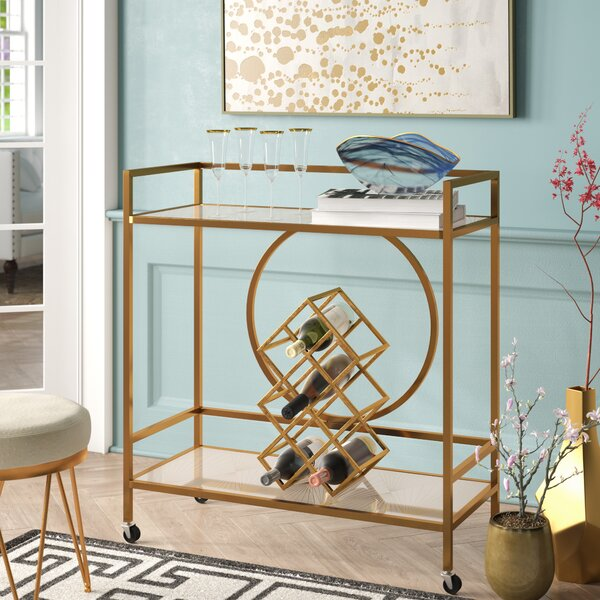 Broadridge Bar Cart By Willa Arlo Interiors.