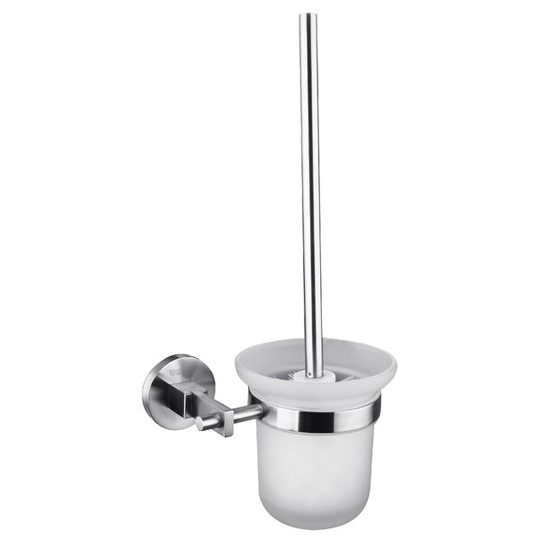 Wall-Mounted Toilet Brush and Holder by UCoreWall-Mounted Toilet Brush and Holder by UCore