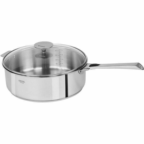 Casteline Saute Pan with Lid by Cristel