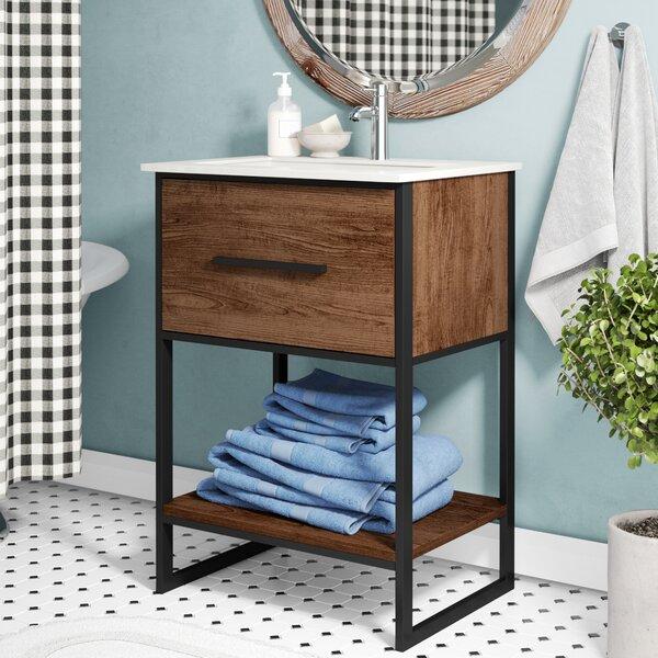 Eckard 24 Single Vanity Set by Laurel Foundry Modern Farmhouse