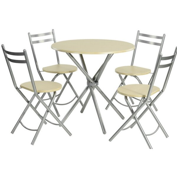 Walpurga 5-Piece Dining Set by Brayden Studio