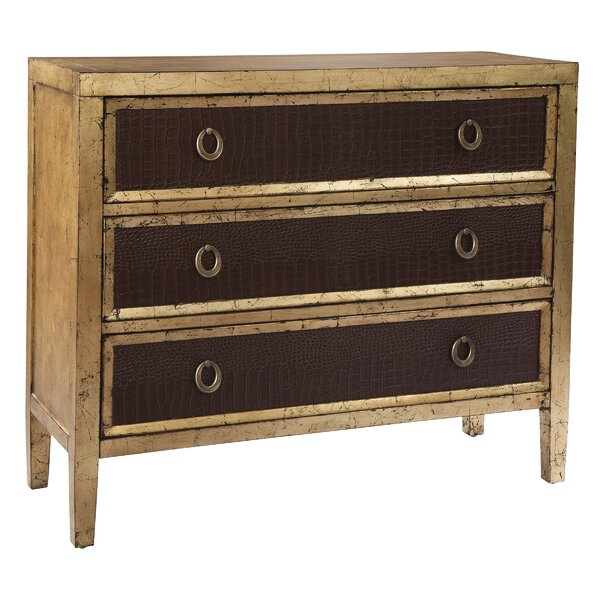 Owatonna 3 Drawer Standard Dresser by World Menagerie