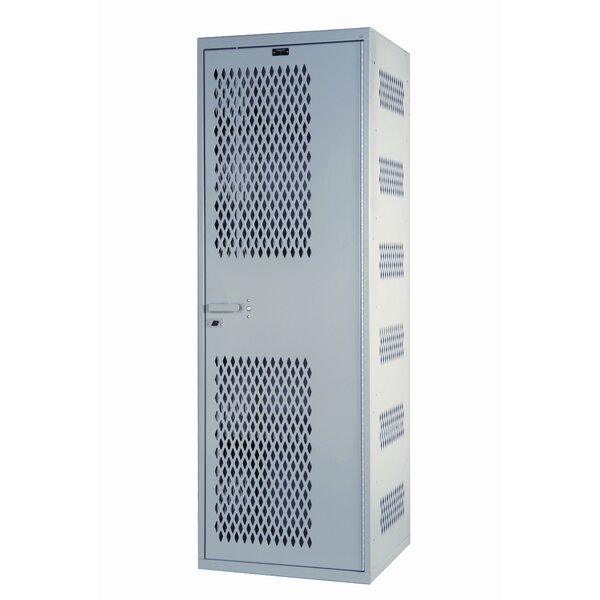 Welded 1 Tier 1 Wide Storage Locker by HallowellWelded 1 Tier 1 Wide Storage Locker by Hallowell