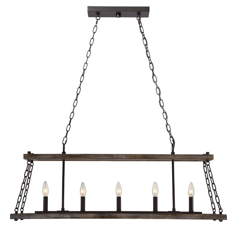 Laurel foundry modern farmhouse inez western bronze dwelling 5 light inez western bronze dwelling 5 light kitchen island pendant aloadofball Gallery