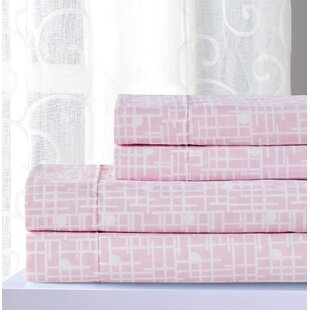 Inexpensive Mazie Geometric Sheet Set By Latitude Run