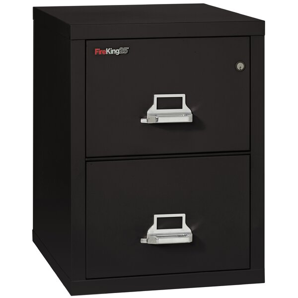 Fireproof 2-Drawer Vertical File Cabinet by FireKing