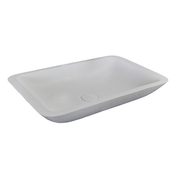 Mariano Rectangular Vessel Bathroom Sink