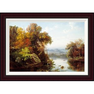 Indian Summer by Francois Regis Gignoux Framed Painting Print by Global Gallery