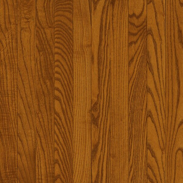 Dundee 3-1/4 Solid Red & White Oak Hardwood Flooring in Gunstock by Bruce Flooring