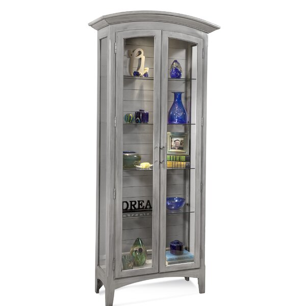 Stubbs Curio Cabinet by Rosecliff Heights