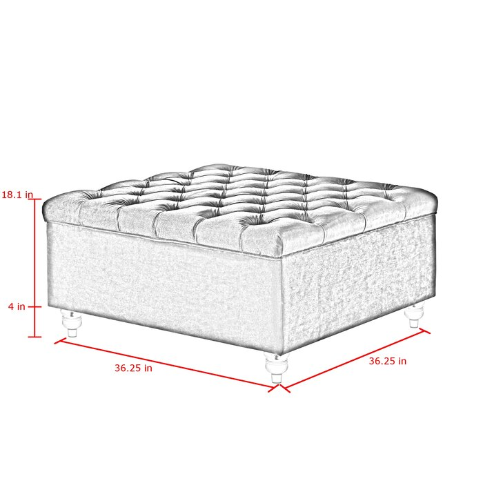 Incredible Jii Tufted Storage Ottoman Andrewgaddart Wooden Chair Designs For Living Room Andrewgaddartcom