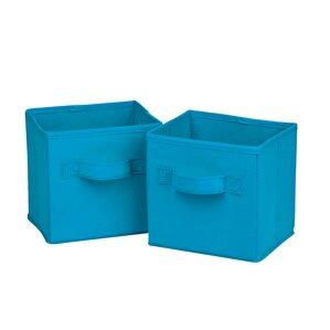 Soft Storage Fabric Cube Or Bin (Set Of 2)