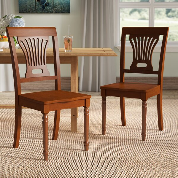 Best Choices Rutledge Solid Wood Dining Chair (Set Of 2) By Beachcrest Home Cheap