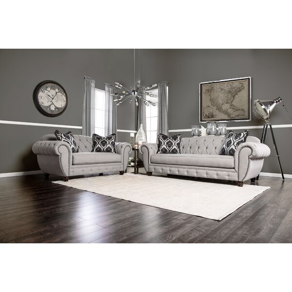 Brenda 2 Piece Living Room Set By Rosdorf Park