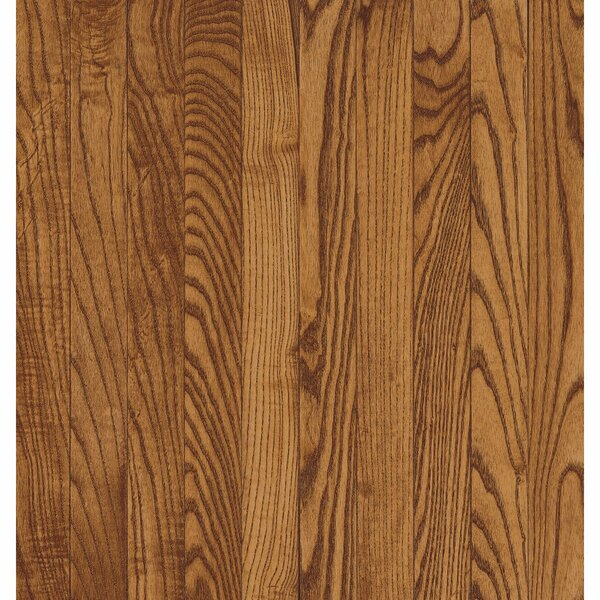 Yorkshire 3-1/4 Solid Oak Hardwood Flooring in Auburn by Armstrong Flooring