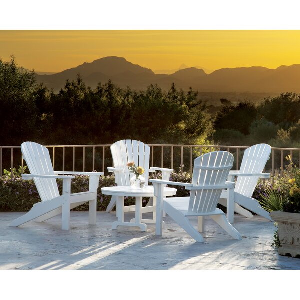 Artisan Shell Back 5-Piece Multiple Chairs Seating Group by Ivy Terrace