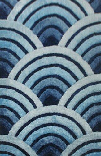 Mithun Blue Area Rug by Orren Ellis
