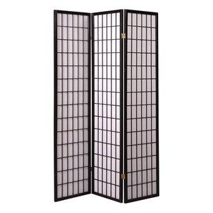 Chantae Shoji 3 Panel Room Divider