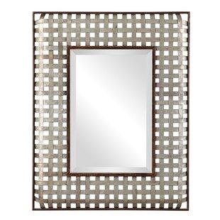 Williston Forge Trip Galvanized Metal Accent Mirror