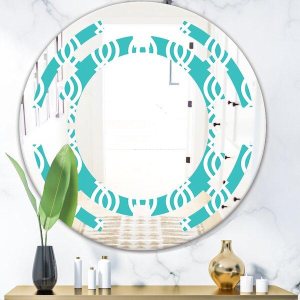 Pattern Abstract Design VII Space ModernFrameless Wall Mirror