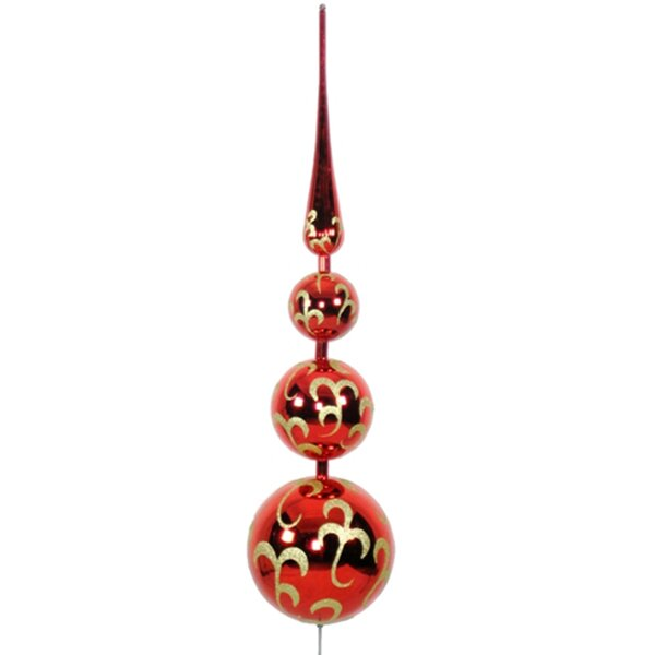 Finial Tree Topper Ornament by Queens of Christmas