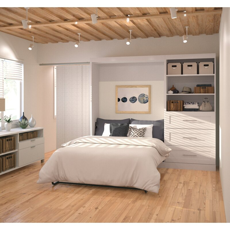 Walley Full Murphy Bed & Reviews