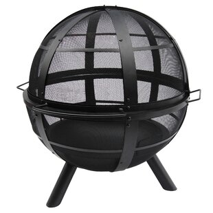 Ball Of Fire Steel Wood Burning Fire Pit Amazing Ideas