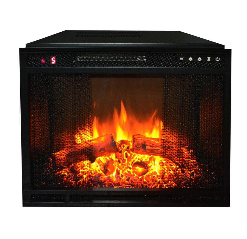 edgeline electric fireplace insert